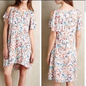 Maeve Anthropologie Watercolor Dress